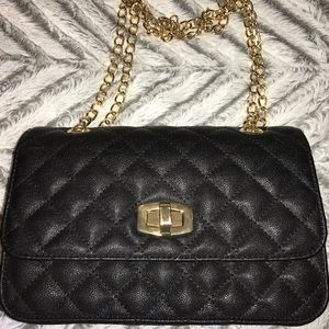 Never used Express black purse!!